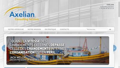 Site internet de Axelian