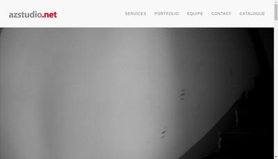 Site internet de SARL Az Studio