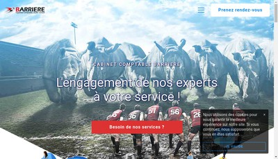 Site internet de B And B Associes