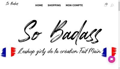 Site internet de BADASS-SHOP