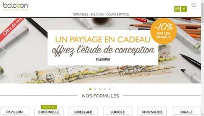 Site internet de Balcoon
