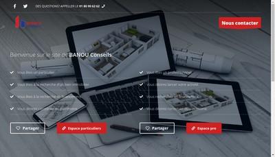Site internet de Banou Conseils
