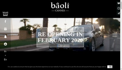Site internet de Baoli