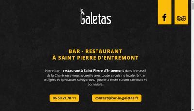 Site internet de Le Galetas