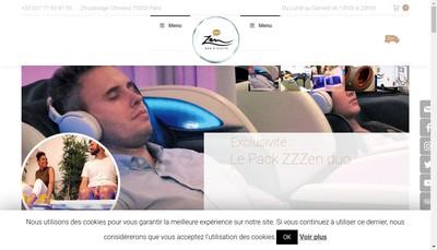 Site internet de Zzz Zen - le Bar a Sieste