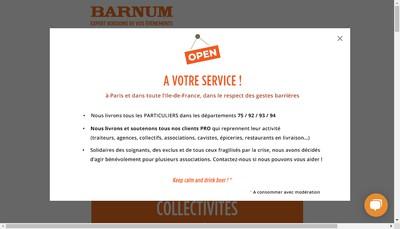 Site internet de Barnum