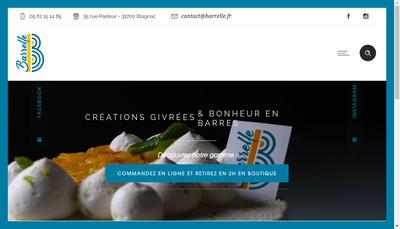 Site internet de Barrelle