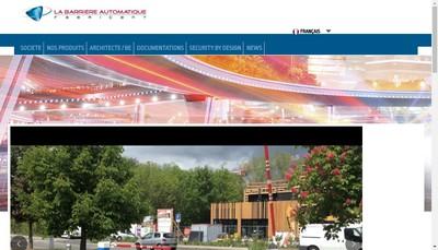 Site internet de La Barriere Automatique