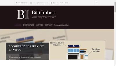 Site internet de Bati Imbert