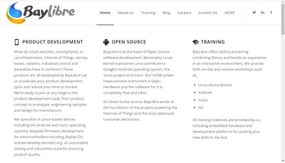 Site internet de Baylibre