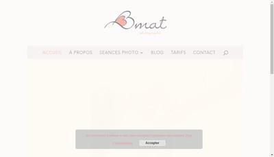 Site internet de Bbmat Photographie