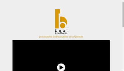 Site internet de Beal Brothers