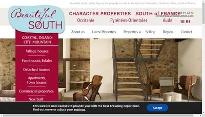 Site internet de Beautiful South