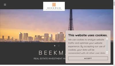 Site internet de Beekman Reim