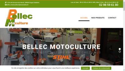 Site internet de Bellec Motoculture