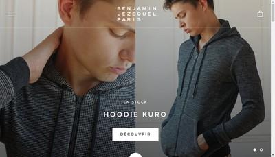 Site internet de Benjamin Jezequel