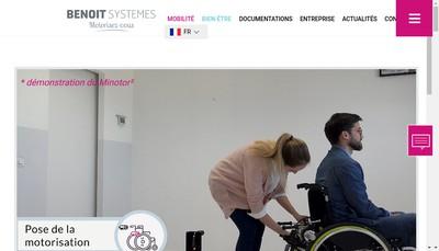 Site internet de Benoit Systemes