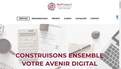 Site internet de Beproject