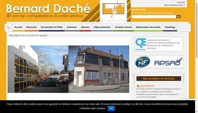 Site internet de Bernard Dache