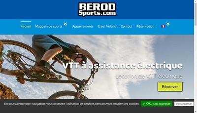 Site internet de Berod Sports