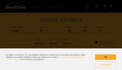 Site internet de Contitrade France