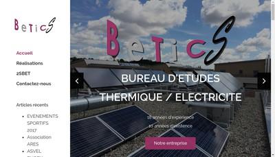 Site internet de Bureau d'Etudes Techniques Ingenierie Conseil Seuzaret