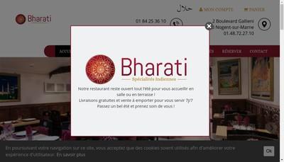 Site internet de Bharati