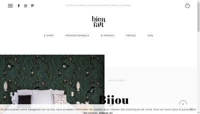 Site internet de Bien Fait