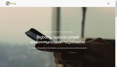 Site internet de Bigbang