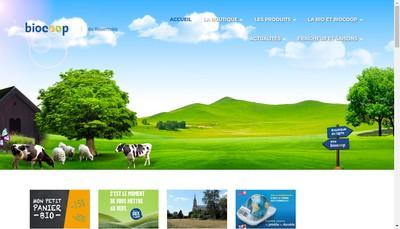 Site internet de SARL Biocoop du Rouennais