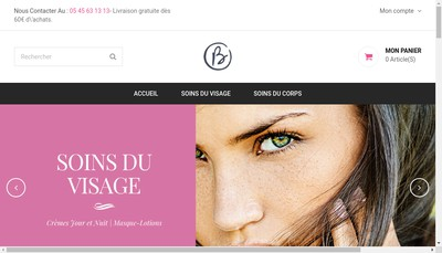 Site internet de Biogenie International
