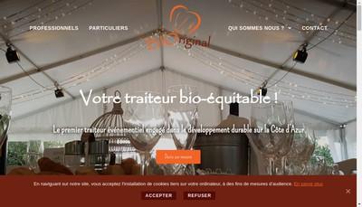 Site internet de SARL Bioriginal