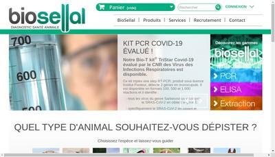 Site internet de Biosellal