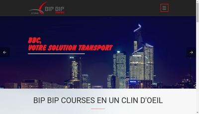 Site internet de Bip Bip Courses