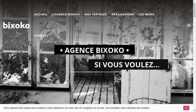 Site internet de Bixoko
