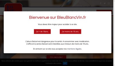 Site internet de Bleu-Blanc-Vin