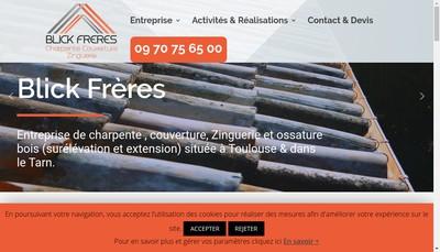 Site internet de Blick Freres