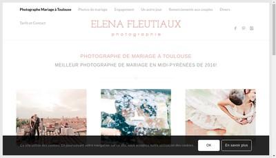 Site internet de Photographe professionnel - Photographe Elena Fleutiaux