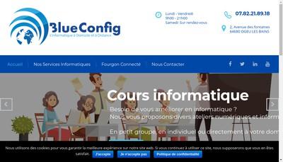 Site internet de Blueconfig