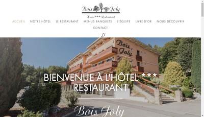 Site internet de Bois Joly
