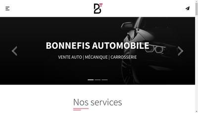 Site internet de Garage Bonnefis