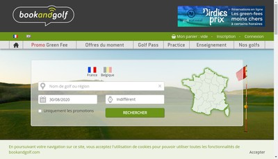 Site internet de Smartbooking