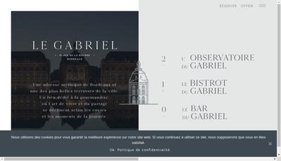 Site internet de Le Gabriel