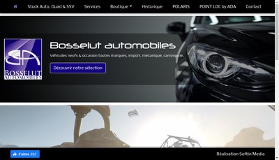 Site internet de SARL Bosselut Automobiles