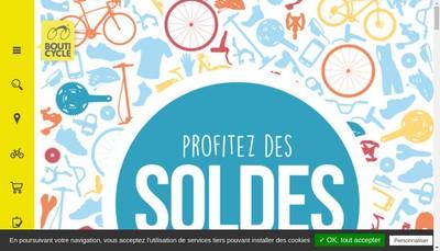 Site internet de Bouticycle