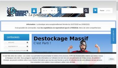 Site internet de Semageek