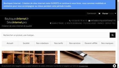 Site internet de SGMN -E-Trade