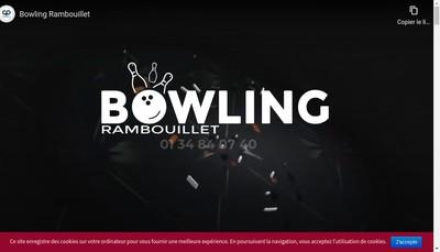 Site internet de Bowling Service Rambouillet