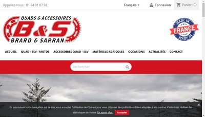 Site internet de Brard et Sarran