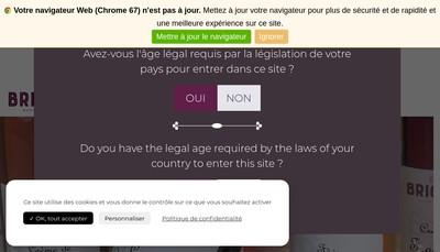 Site internet de Edmond Briottet -Jules Theuriet - Comptoir Dijonnais du Cassis